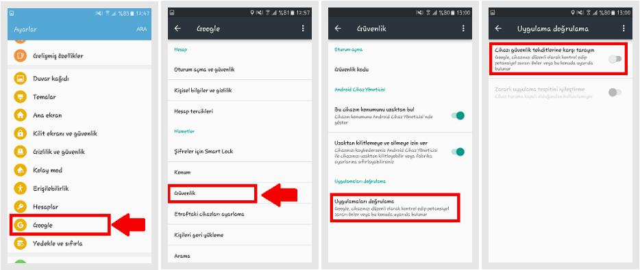 telefon takip programı android ücretsiz doğrulama kapatma