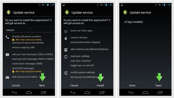 mSpy Android kurulumu hizmeti güncelleyin